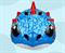 Шлем детский GUB King зеленый - фото 8015